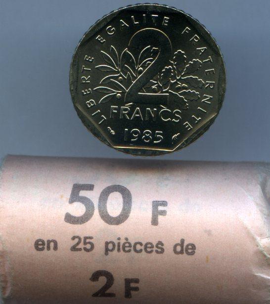 2 Francs 1985