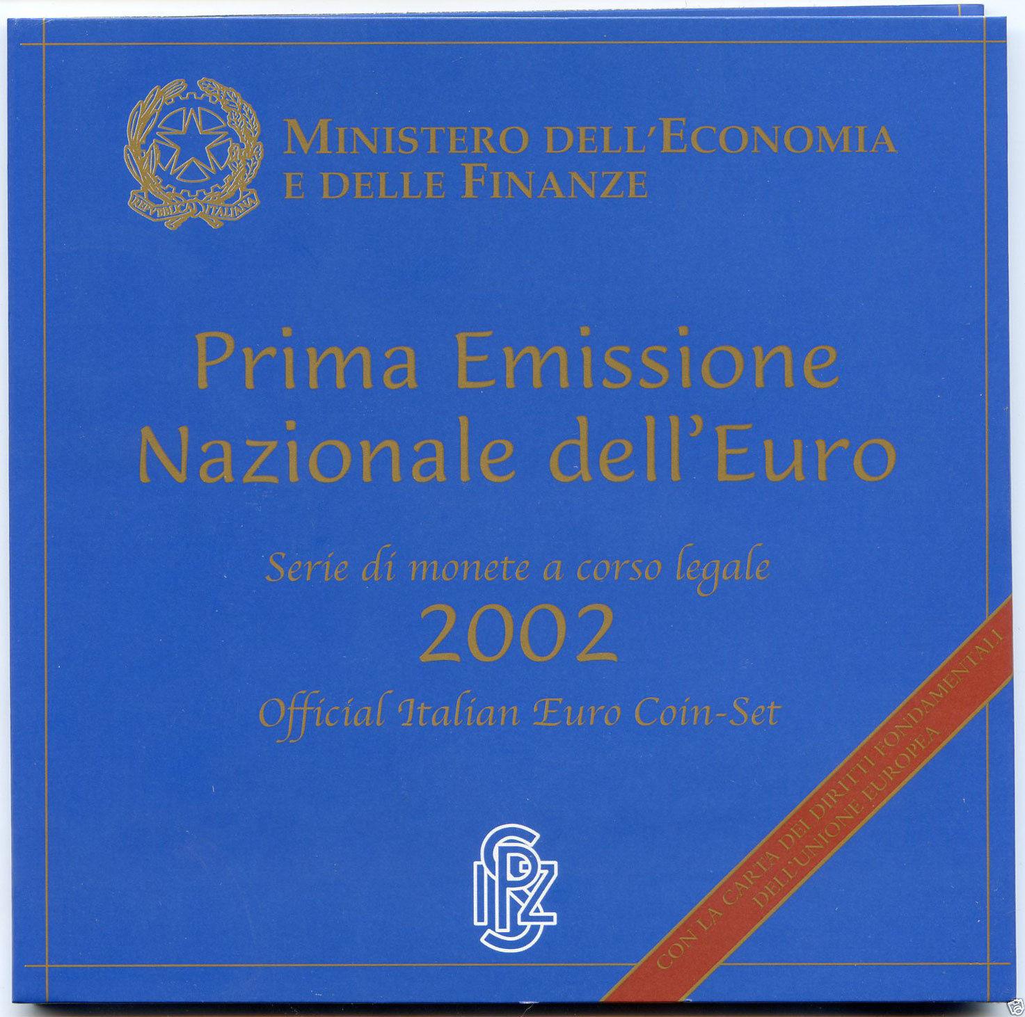 BU ITALIE 2002