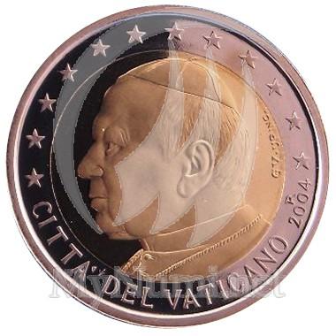 2 EUROS VATICAN  2004