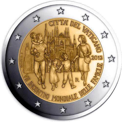 2 Euro VII rencontre mondiale de la famille VATICAN 2012