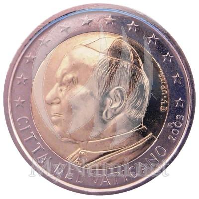 2 EUROS VATICAN  2003