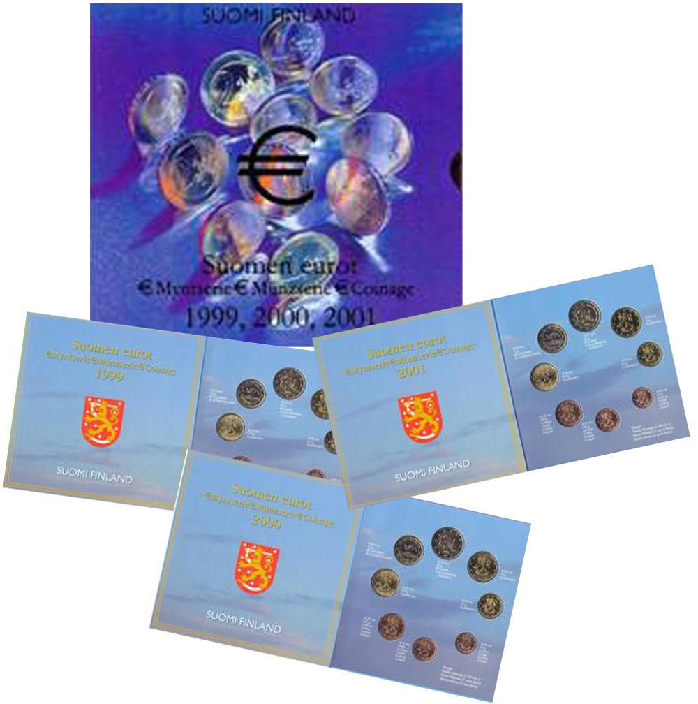 BU FINLANDE TRYPTIQUE 1999, 2000, 2001