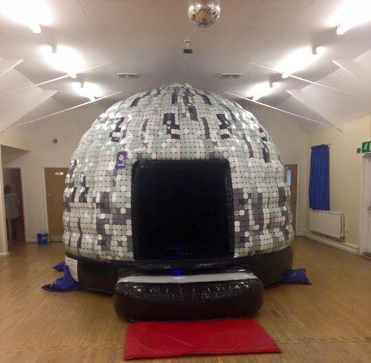 Disco Dome Party Castle Deposit