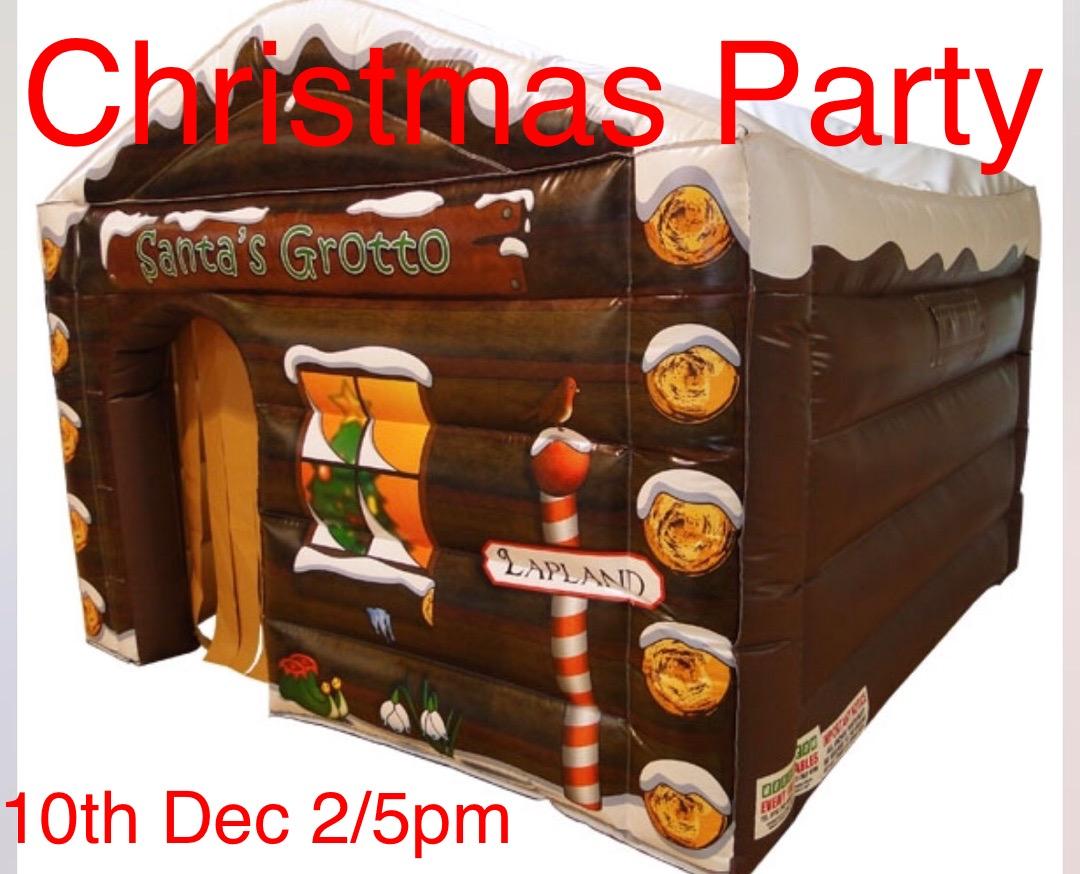 Christmas party and panto