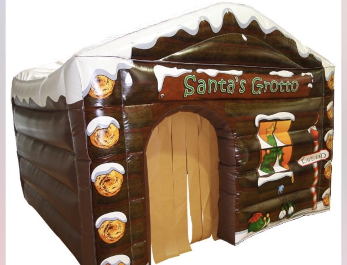 Santa grotto deposit