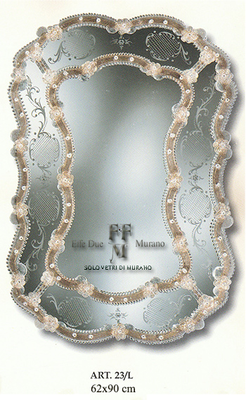 specchio di Murano 23 L BIG