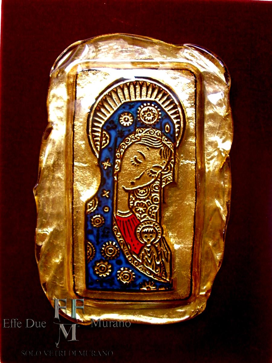 quadretto Madonna dei Fiori