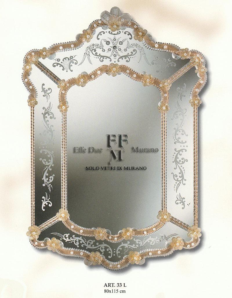 specchio di Murano 33 L BIG