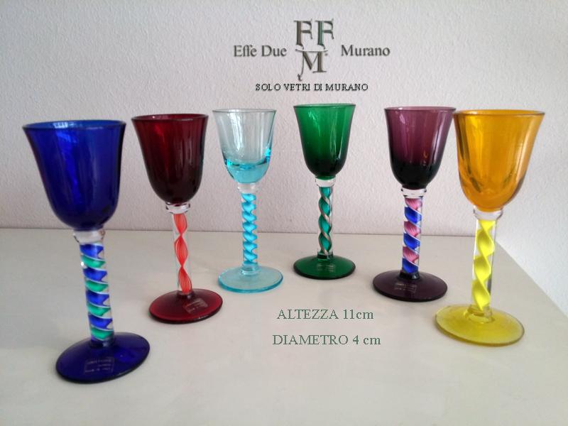 set bicchierini filigrana