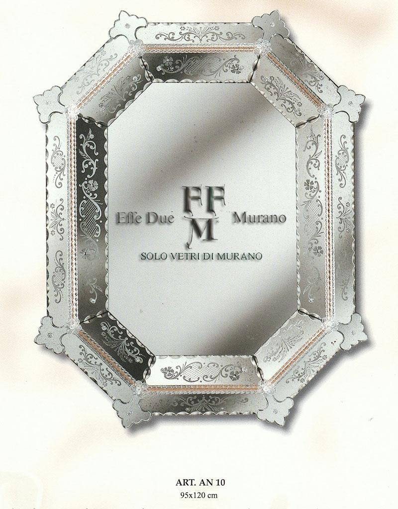 Murano Glass Mirror AN 10 BIG