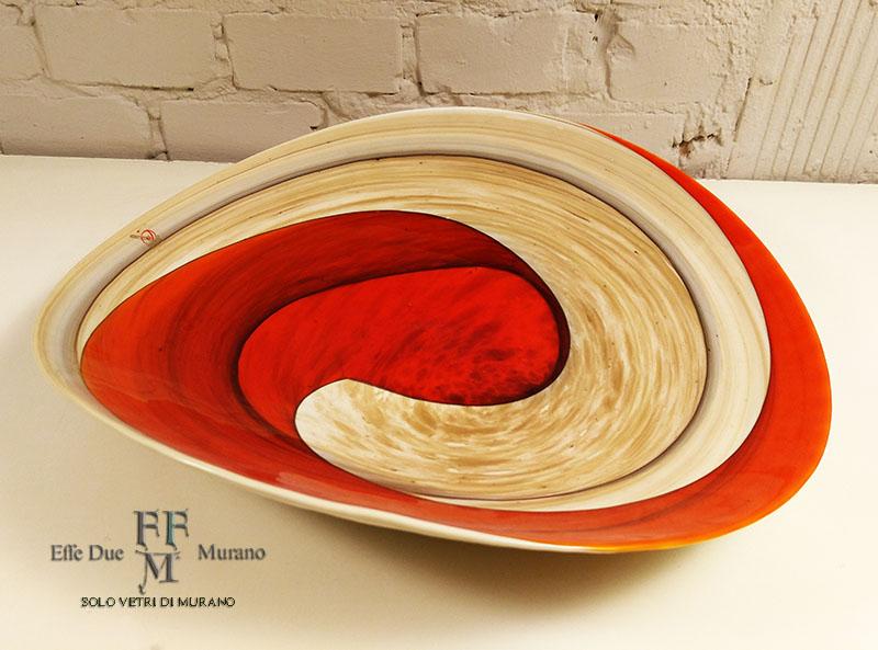 yalos centrotavola rouge piatto piega 40 cm