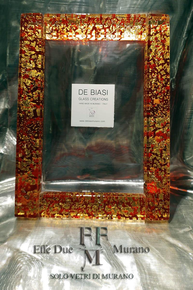 Cornice in vetro di Murano DE BIASI