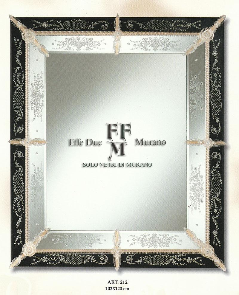 Murano Glass Mirror 212