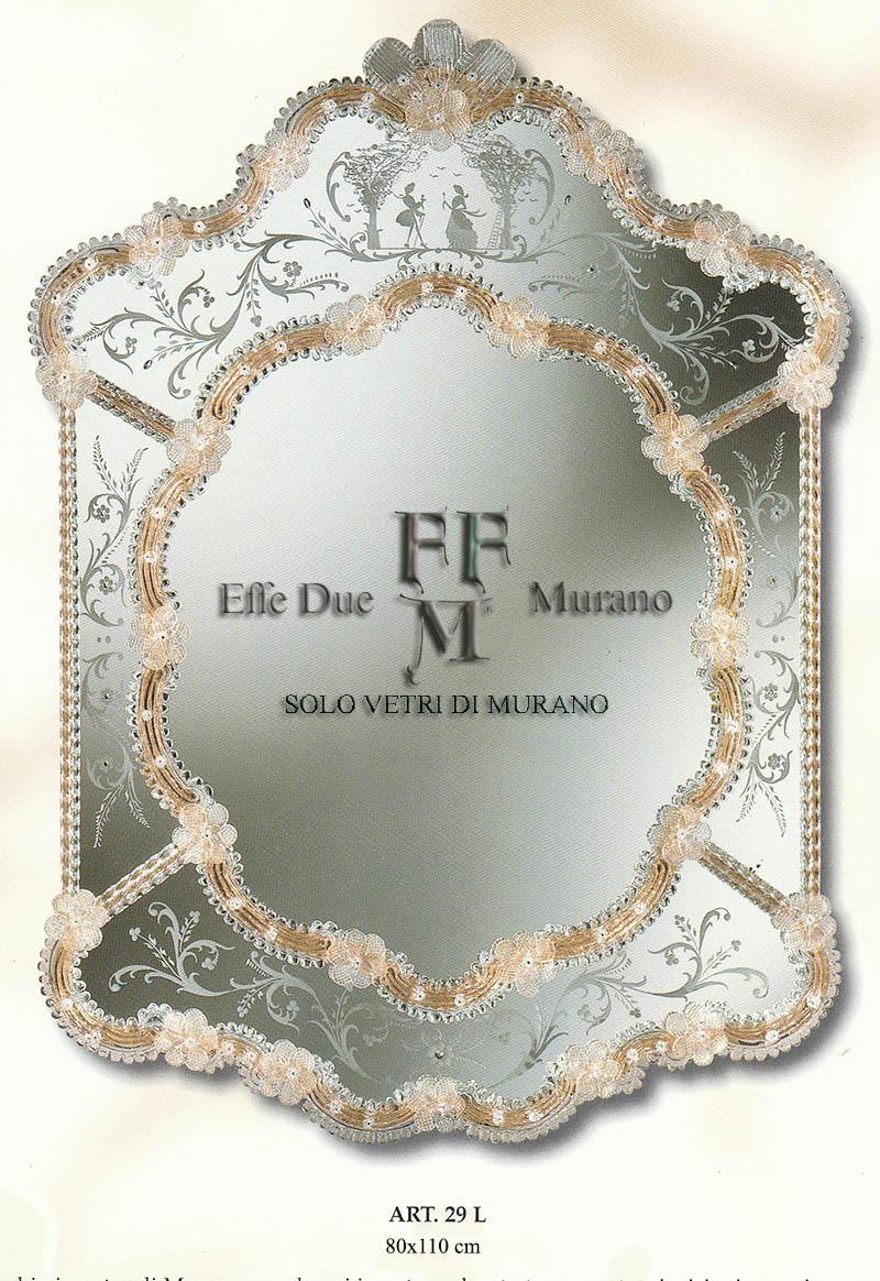 specchio di Murano 29 L BIG