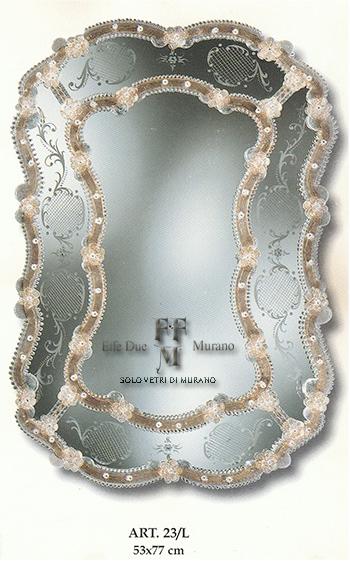 Murano Glass Mirror 23 L