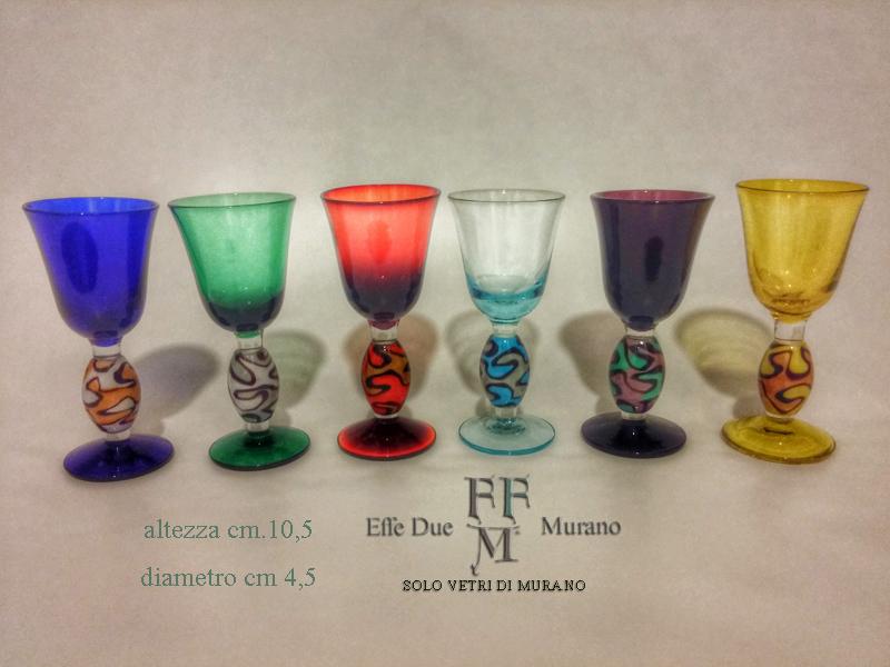 bicchierini colorati perla