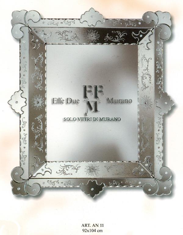 Murano Glass Mirror AN 11 BIG