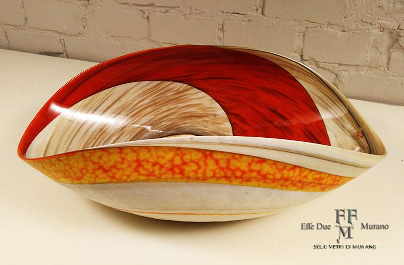 yalos cartoccio centrotavola rouge 40 cm