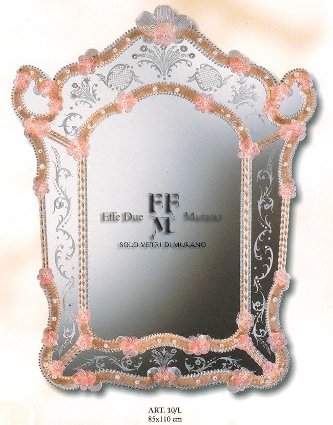 Murano Glass Mirror 10 L BIG