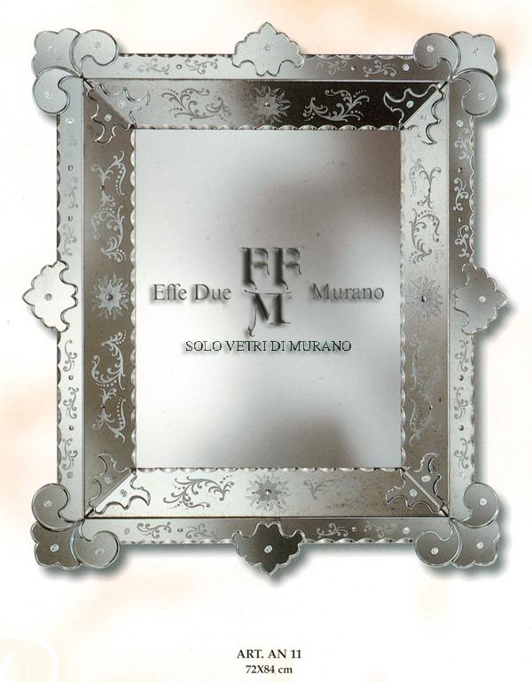 Murano Glass Mirror AN 11