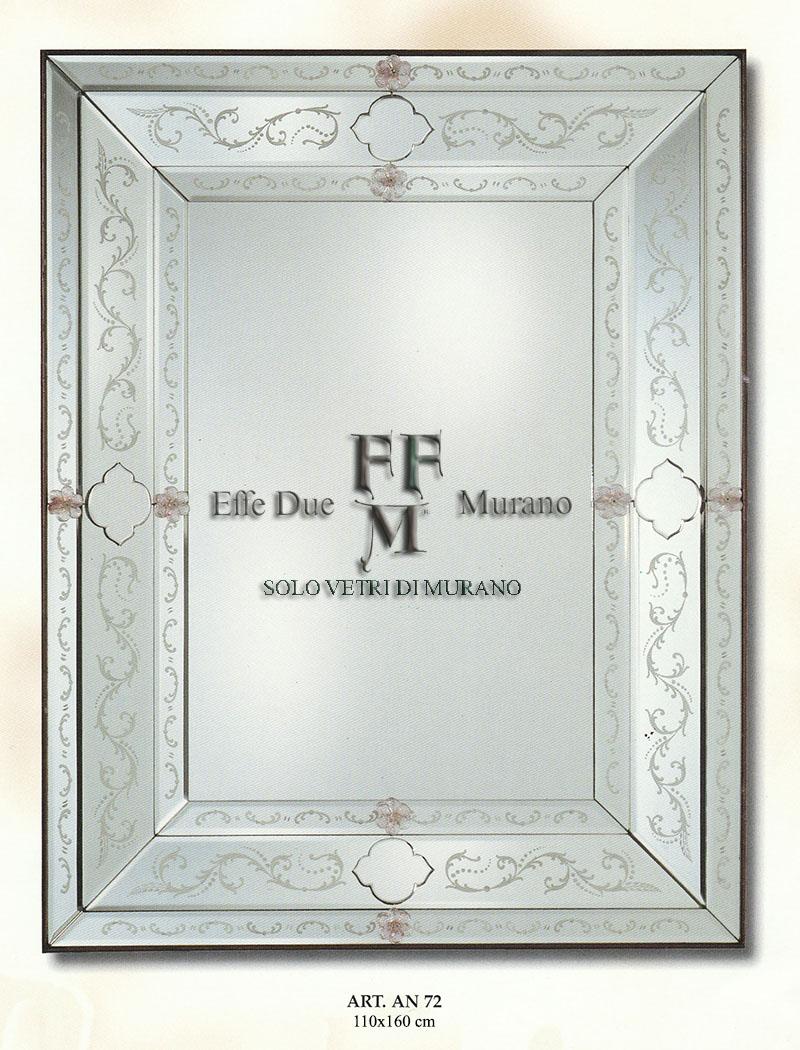 Murano Glass Mirror AN 72 BIG