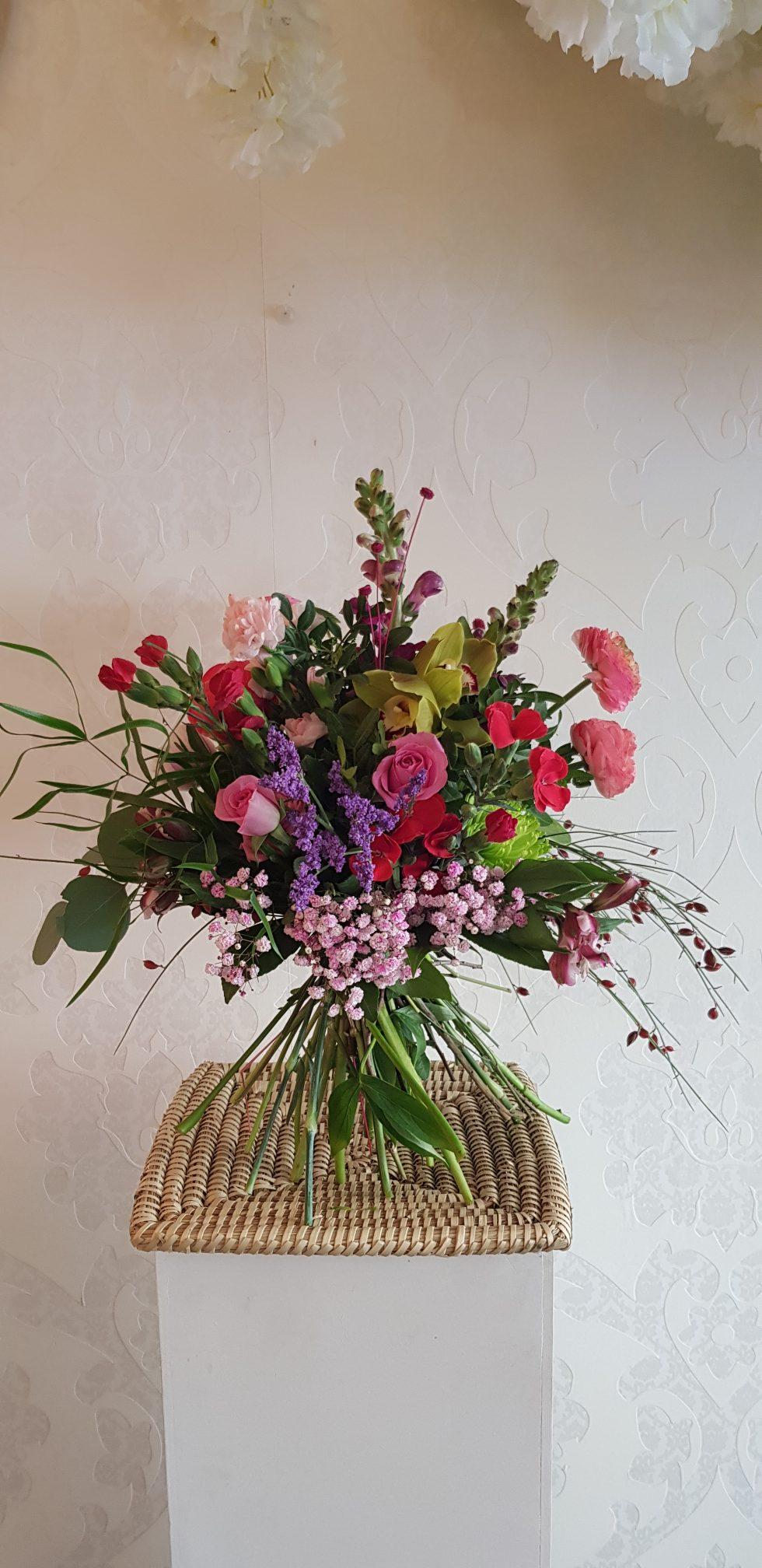 Bouquet Tonos Rosaceos. Online 010