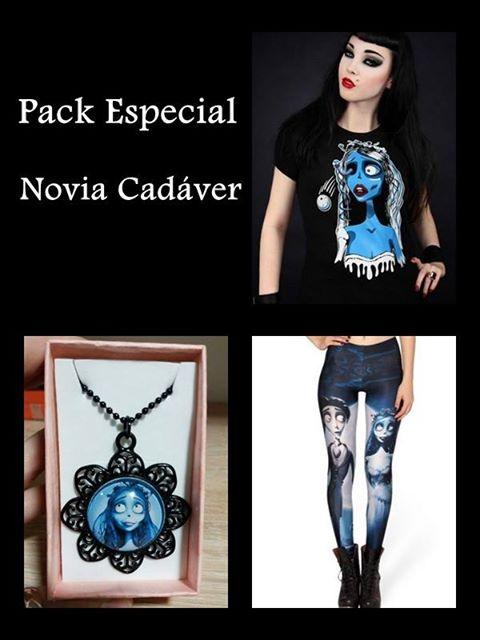 Pack Novia Cadáver