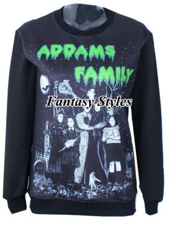 Sudadera familia Adams