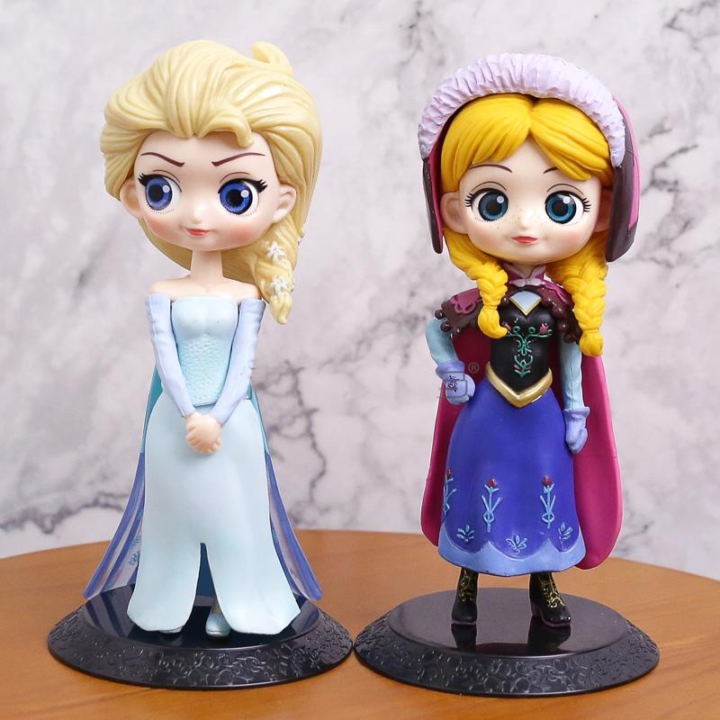 Figuras Elsa y Ana