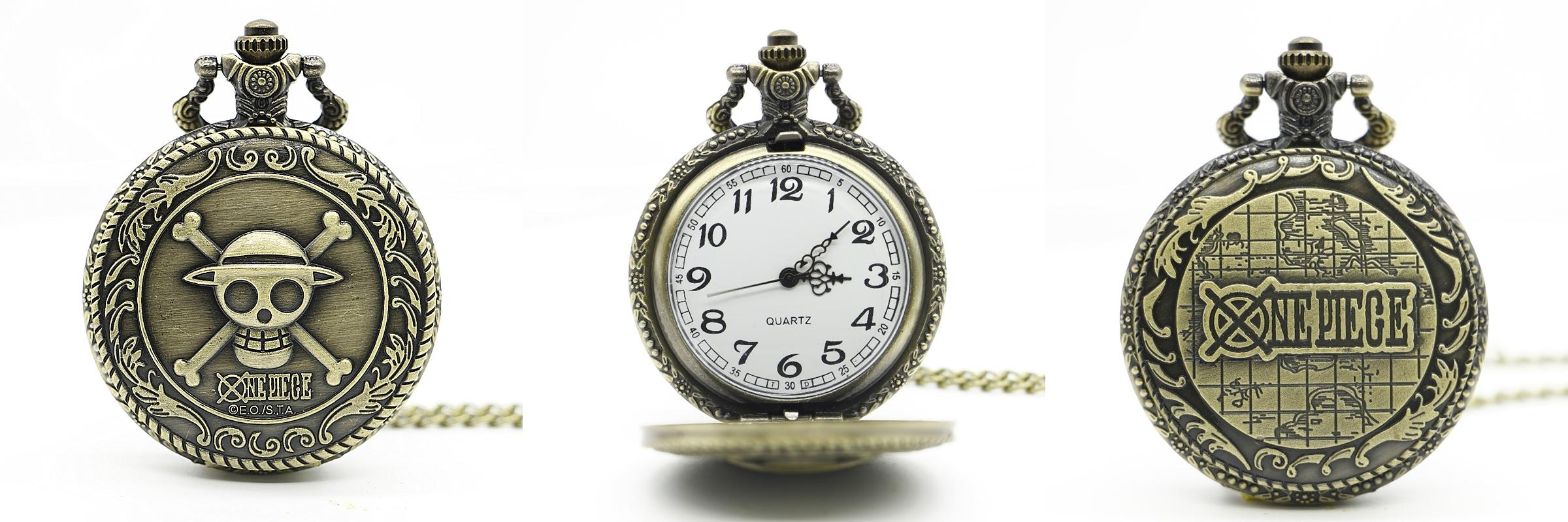 Reloj de Bolsillo One Piece 01