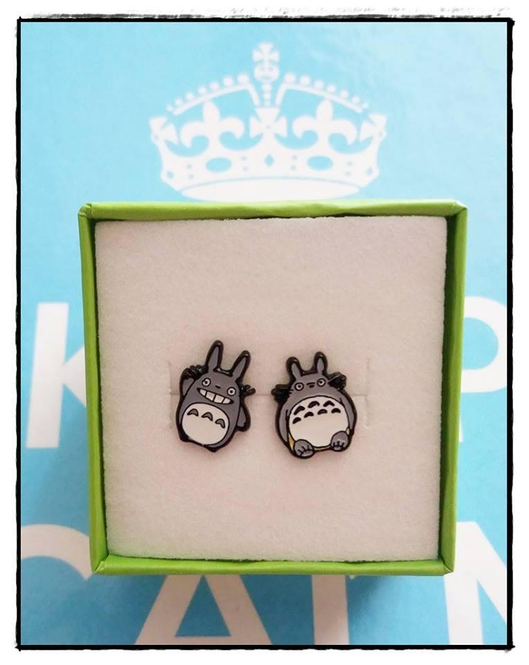 Pendientes Totoro *03