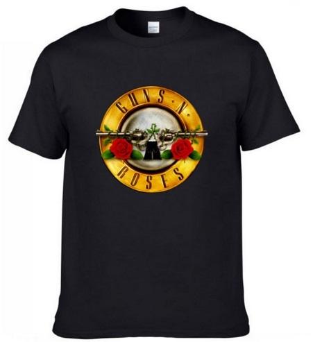 Camiseta Guns & Roses negra