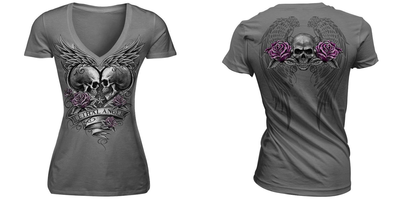 Camiseta Lethal Angel Modelo 2