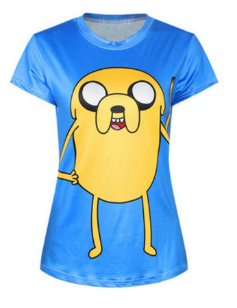 Camiseta manga corta Hora de aventuras*14