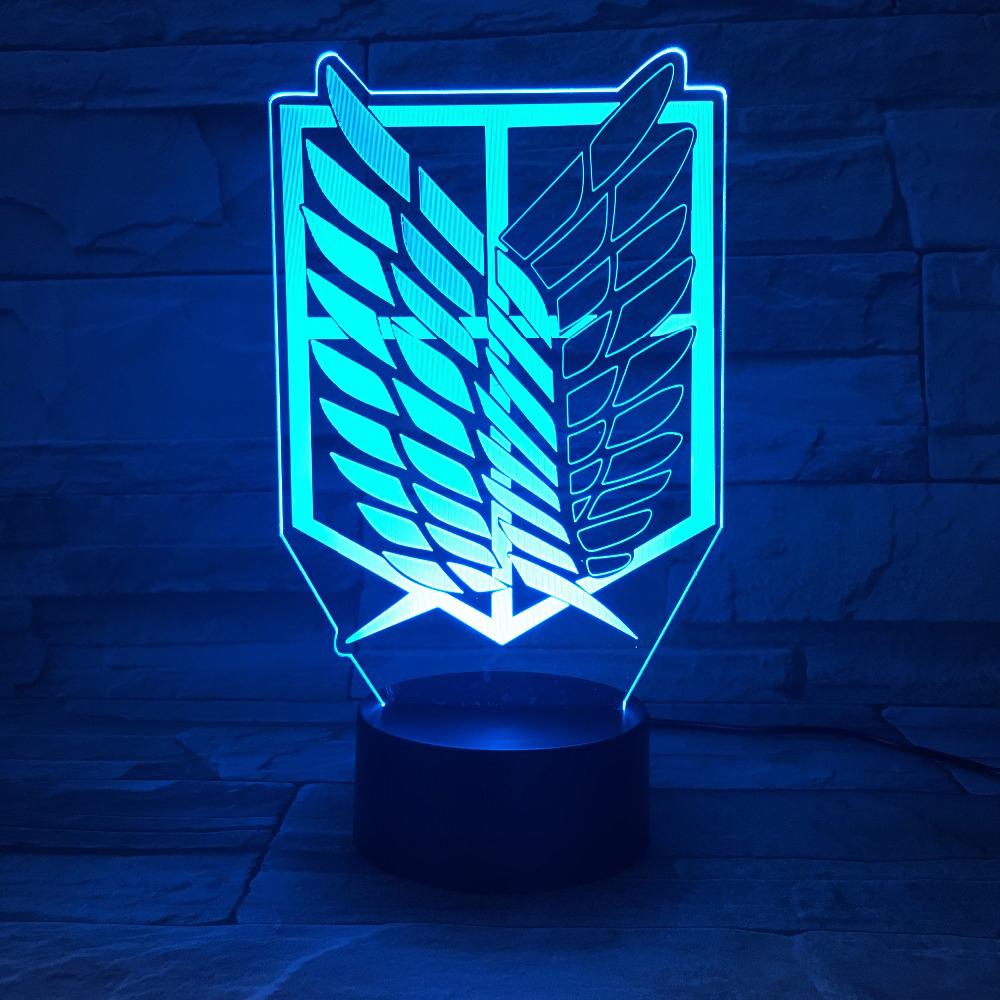 Lampara 3D Titan