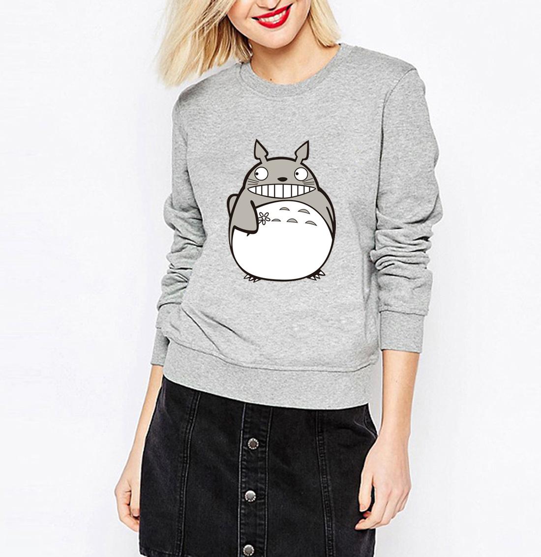 Sudadera Totoro Gris