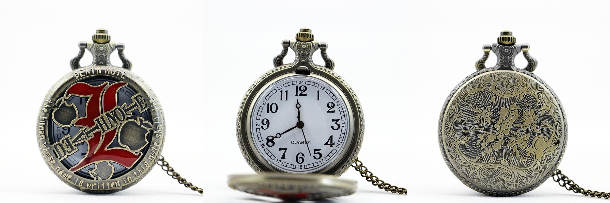 Reloj de Bolsillo L Death Note