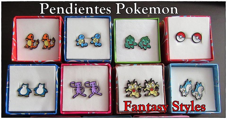 Pendientes Pokemon