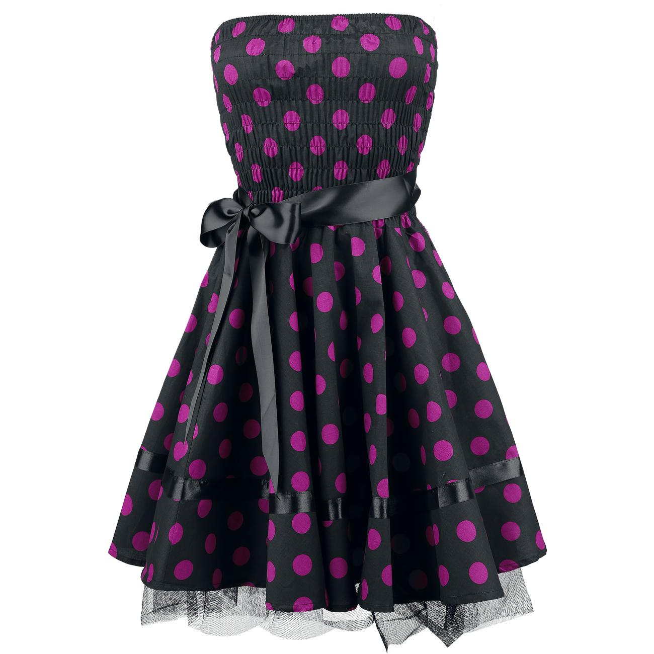 Vestido Big Purple Dots