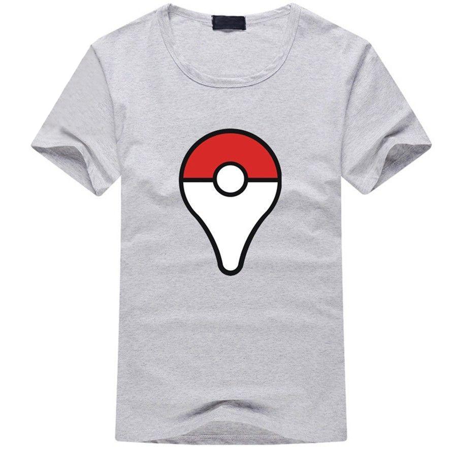 Camiseta Pokeball Gris