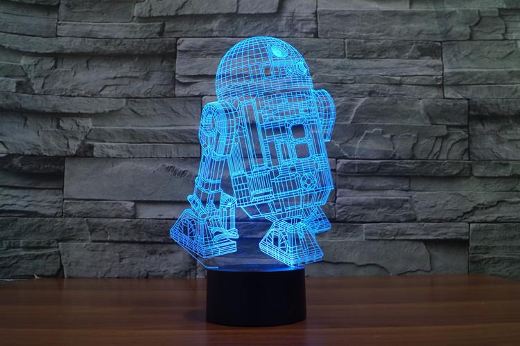 Lampara 3D R2D2