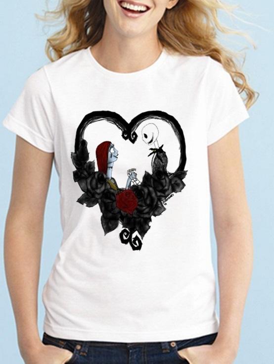 Camiseta blanca Pesadilla *04