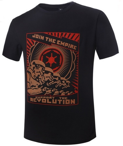 Camiseta Join the empire negra