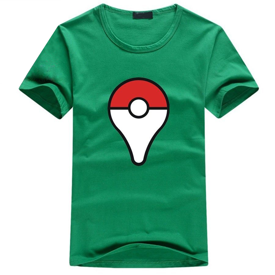 Camiseta Pokeball Verde
