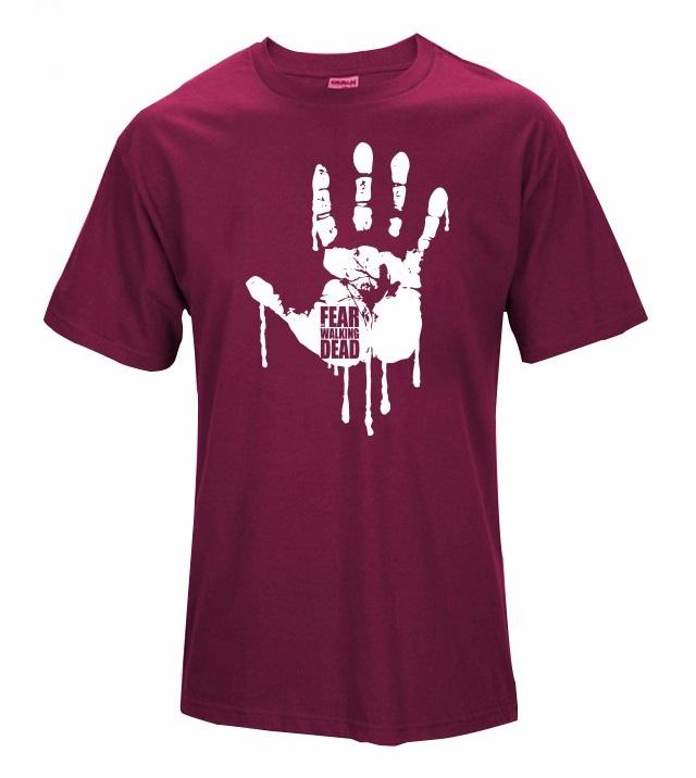 Camiseta Fear Walking Dead Roja
