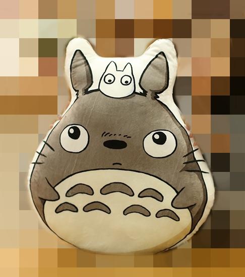 Almohada Totoro *02