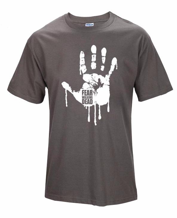 Camiseta Fear Walking Dead Marrón