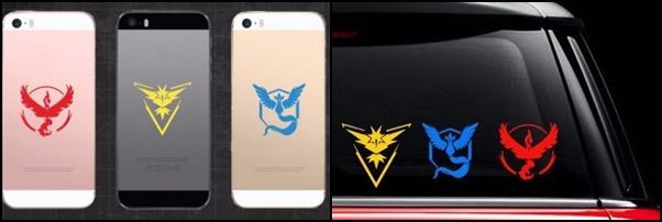 Vinilos Instinto Pokemon Go