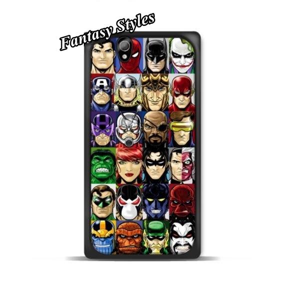 Carcasa super heroes Xperia