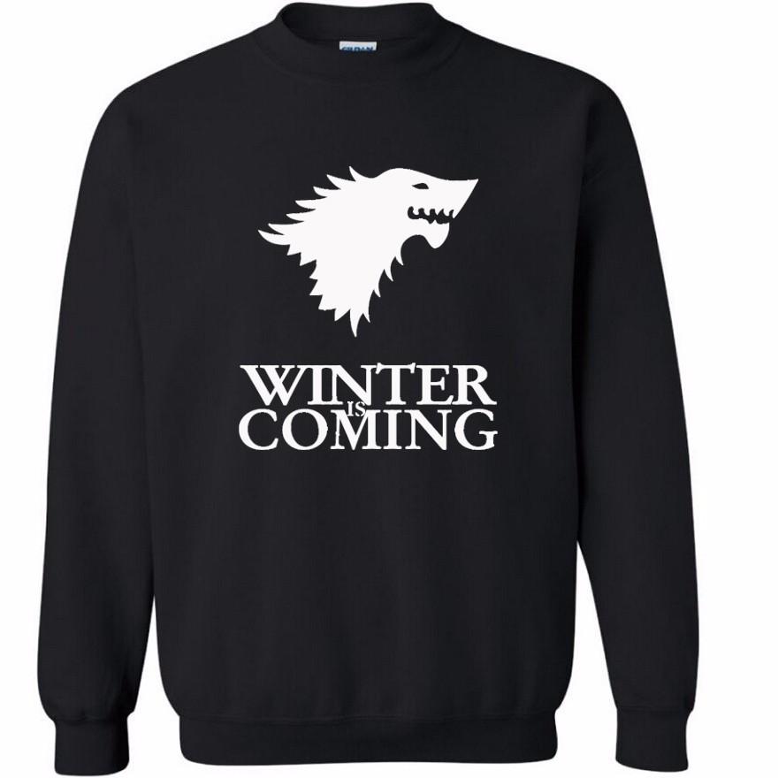 Sudadera Winter is Coming Negra